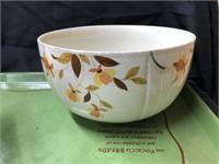 (4) pcs of Hall Wheat Patterned China