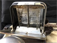 Vintage Toaster, Napkin Dispenser,