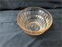 (3) pcs of Pink Depression Glassware