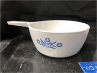 (4)pcs of Corning Cornflower Pattern Serving Dish