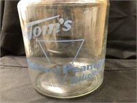 Vintage Tom's Peanut Canister