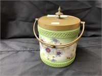 Early 20th Century English Porcelain Canister