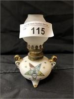 (2) Masonic Lodge Miniature Fluid Lamps