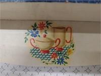 Vintage Wood Towel Holder