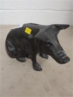 Contemporary Cast Iron Pig Formed Stillbank
