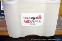 FIREKING MV1000 MEDIA VAULT SAFE W/ KEYS