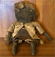 Early Handmade Black Americana Doll