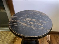 Vintage Industrial Adjustable Side Table