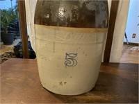 Antique 5 Gallon Butter Churn