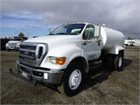 2012 Ford F750 S/A Water Truck