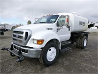 2015 Ford F650 S/A Water Truck