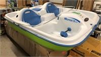 Pelican Monaco DLX Paddle Boat w Bimini Top