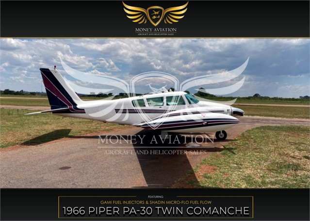 1966 PIPER TWIN COMANCHE at www.aboutmoneyaviation.com