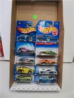 Lot of 8 Hot Wheels in Sealed Packages