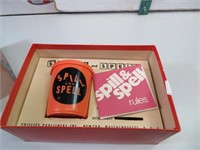 Vintage 1959 Spin & Spell Game