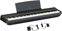 YAMAHA 8-Key Weighted Action Digital Piano Black