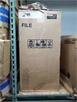 HON 4 Drawers Vertical Lockable Filing Cabinet