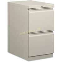 Basyx 2 Drawers Vertical Lockable Filing Cabinet