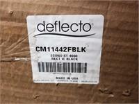 Deflecto EconoMat 46 x 60 Chair Mat, Black