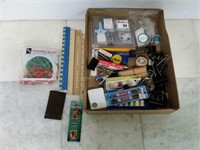 Assorted Office Supplies - Rulers, Desk Accessorie