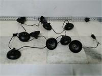 10 Ft. Indoor String Light, Black
