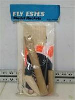 "Fly Estes Model Rocket ""Astron Drifter"""