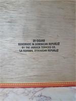 Royal Jamaica Cigar Box w/ Humidor Tubes
