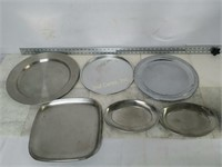 Qty (6) Assorted Serving Trays