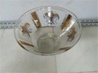 "Glass Serving Bowl (6"" T x 10"" Dia.)"