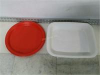 "Qty (2) Serving Trays (14"" x 12"" x 2.5"", & 12"" D)"