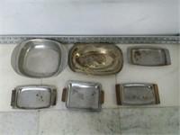 Qty (6) Assorted  Trays