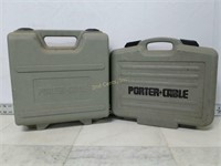 Qty (2) Porter Cable Tool Boxes