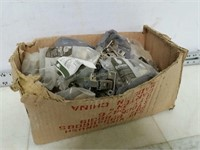 Box of Assorted Cabinet Hinges