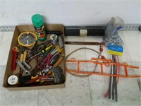 Assorted Tools - Drivers - Paint - Blades - Ect