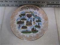 """Schirnding Bavaria China Plate (7.75"""" Dia)"""