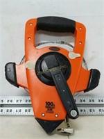 Keson 100FT Fiberglass Tape Measure