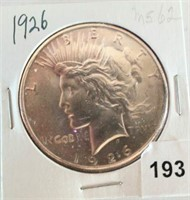 Online Coin Auction  2/25/21 to 3/4/21