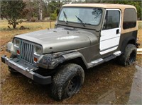 Jeep & Trailer Being Re-Sold Non Paying Bidder #222