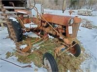 Farmall antique Cub tractor