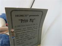 """Denim Days Prize Pig 5&1/4"""" x 5&1/4"""""""