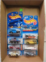 8 Hot Wheels Cars (New in Packages)