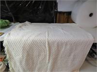 "Vintage Chenille Bedspread 114"" x 96"""