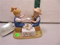 """Denim Days Debbie's Afternoon Tea 5&3/4"""" x 5&1/2"""""""
