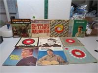10 Vtg 45 RPM Records (Rolling Stones, Elvis,