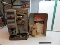 Vtg Kodak Showtime 8mm Movie Projector & Screen