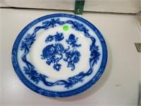 Antique Johnson Bros England Flow Blue Tokio Plate