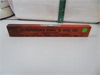 Vintage Rutherford's Plbg & Htg Co Hastings