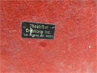 "Vintage King Tut Statue Chalkware 14&1/4"""