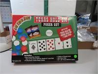 Las Vegas Style Texas Hold'Em Poker Set