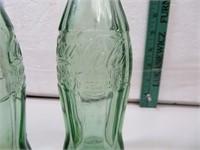 2 Antique CocaCola Bottles Dec 25, 1923 Atlanta GA
